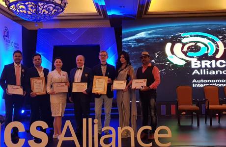 Церемония награждения международного форума